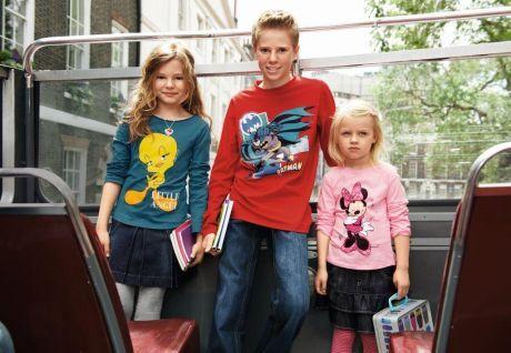 c05429c5f75 ŽENA-IN - Prázdniny jsou fuč. Co obléct dětem do školy