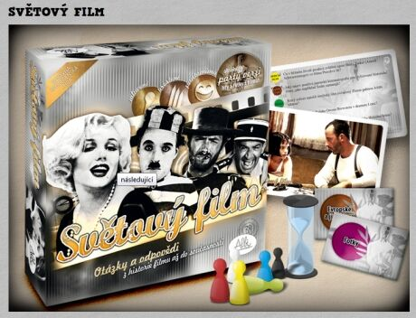 Společenská hra: Světový film