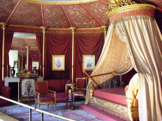 Zámek Malmaison - interiér