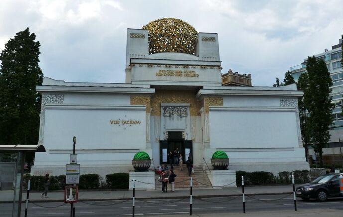 Budova Secese ve Vídni