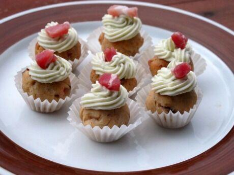 slané cupcakes