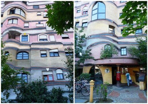 Darmstadt, obytný komplex Waldspirale