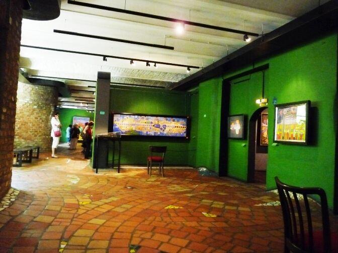Hundertwasserovo muzeum vKunstHausu