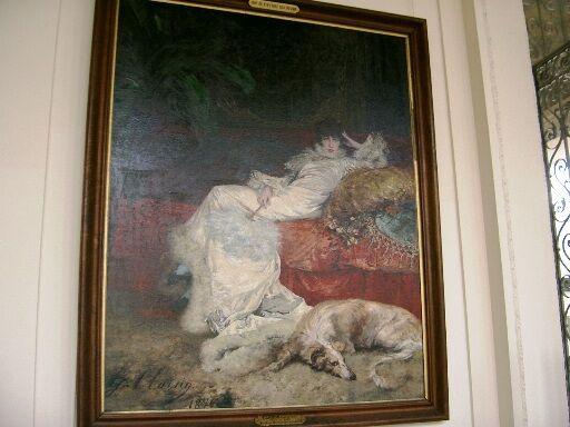 G. Clairin-portrét