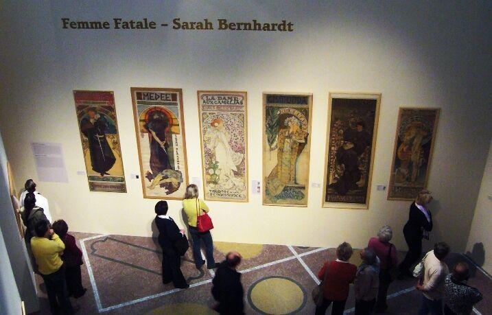 Muchova výstava v Moravské galerii