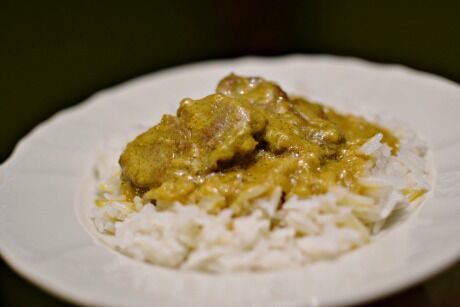 jehněčí na curry