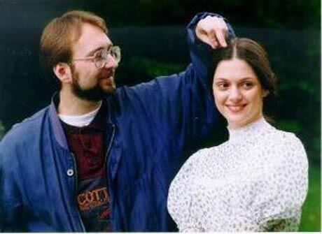 Jan Lipšanský a Klára Issová