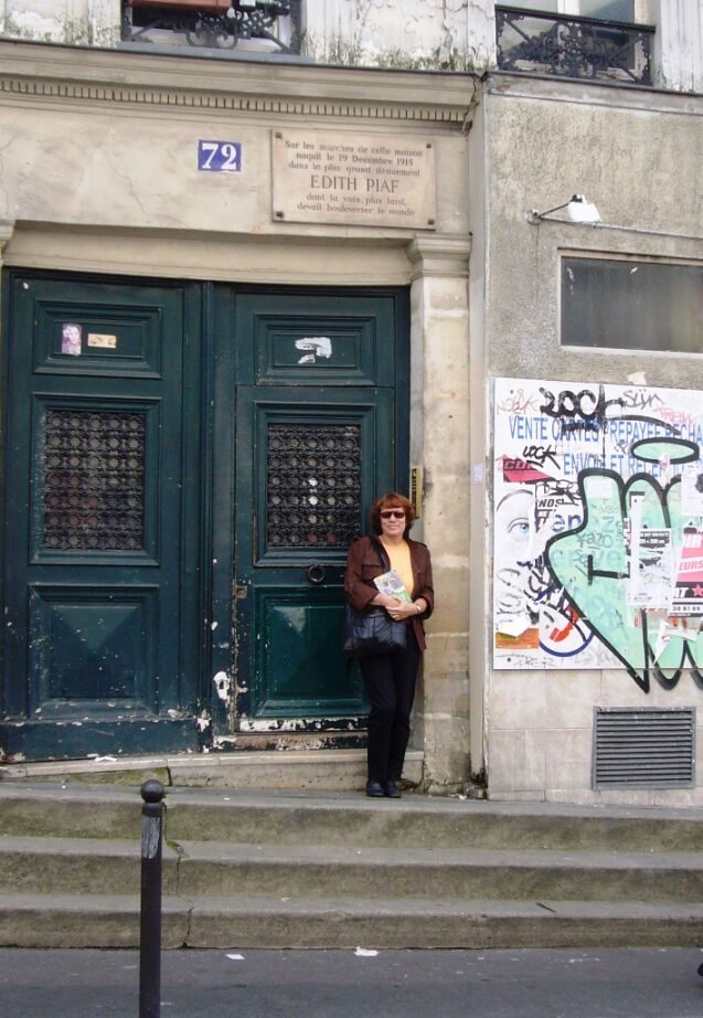 Rodné schody Edith Piaf