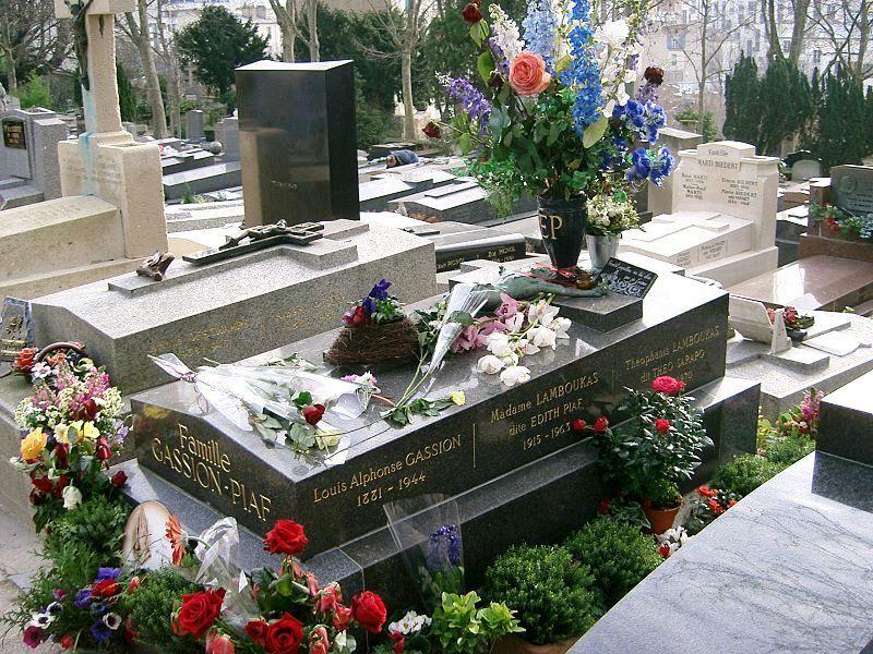 Hrob Edith Piaf