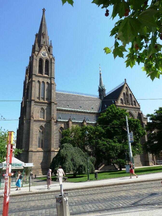 Kostel svat� Ludmily