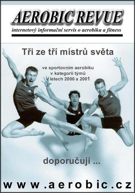 Mist�i sv�ta ve sportovn�m aerobiku (foto. Josef Adlt)