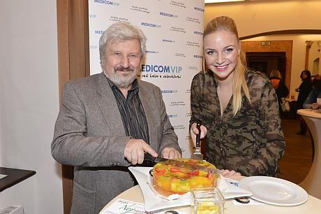 Jan Cimický s Markétou Konvičkovou