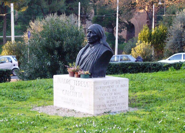 Matka Tereza v Římě