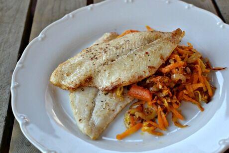 filet s kořenovou zeleninou