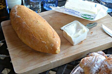toskánský chleba