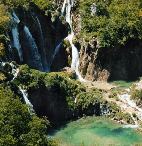 Plitvická jezera, foto: Chorvatské turistické sdružení