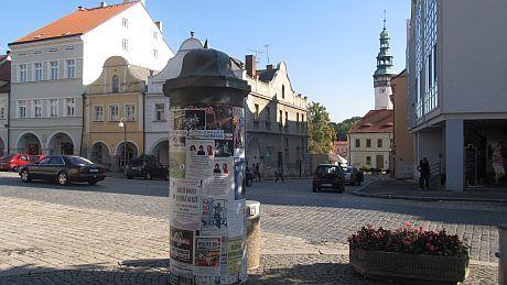 Věž domažlického hradu a Albert