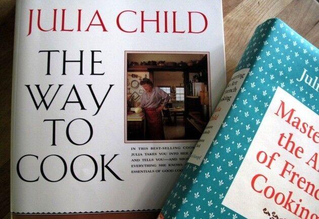 Knihy Julie Child