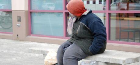 bezdomovkyně