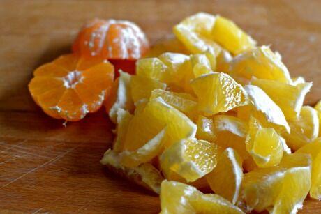 pomeranč a mandarinka