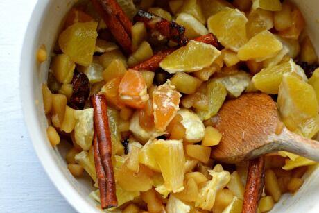 ovoce s kořením