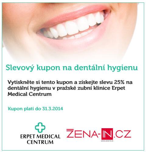 Erpet - slevový kupon na dentální hygienu