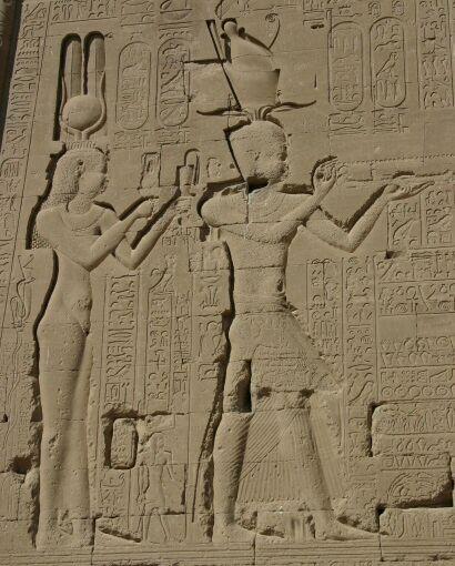 Kleopatra a Caesarion