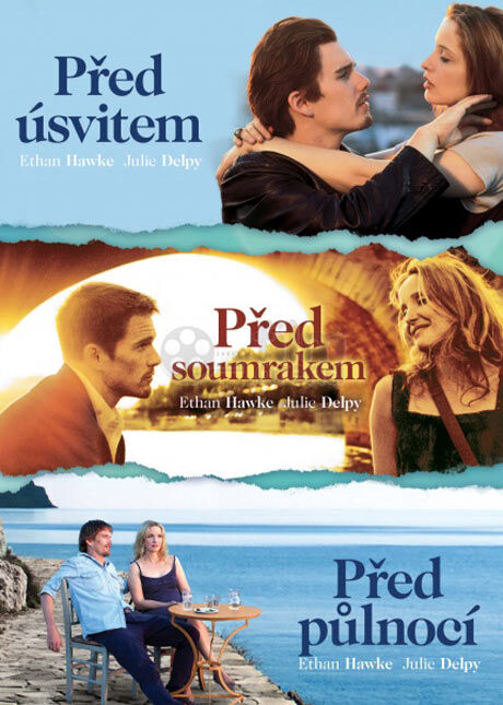 Před úsvitem, Před soumrakem, Před půlnocí, 3 DVD (Magic box)