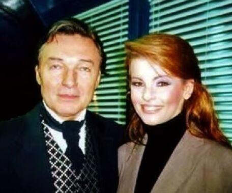 Karel Gott a Iveta Bartošová