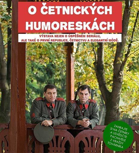 Výstava O Četnických humoreskách