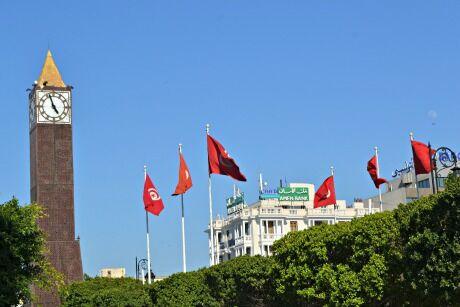 hlavní město Tunis