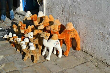 nakupování v Tunisu