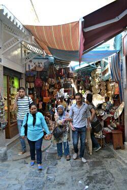 trh v Tunisu