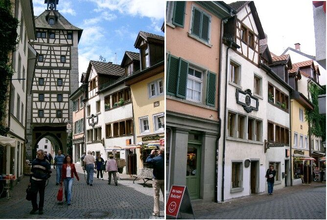 Husova ulice a dům