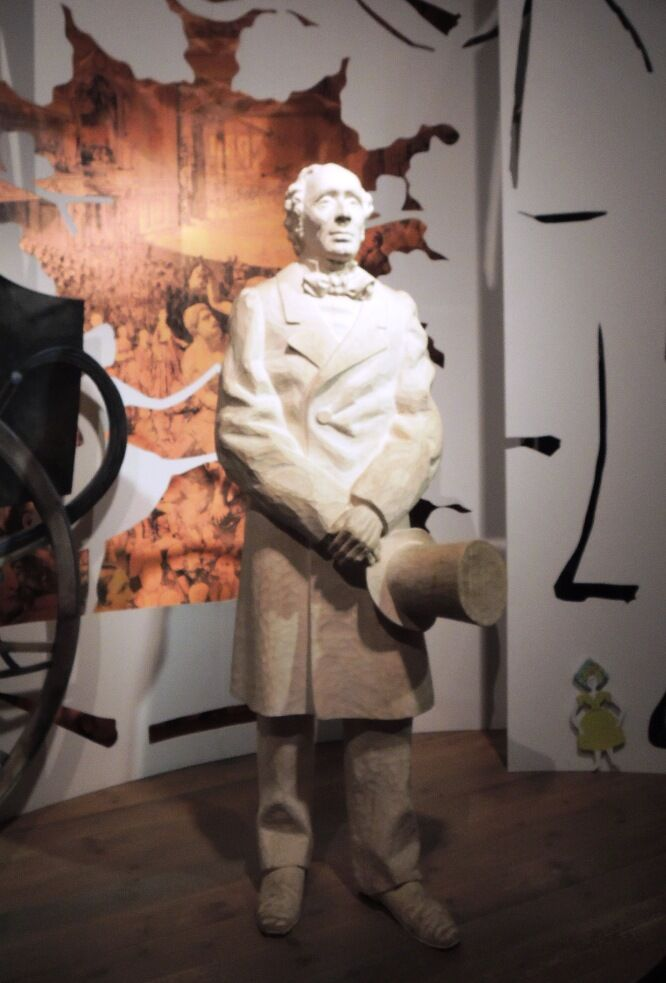 Socha Andersena v Muzeu