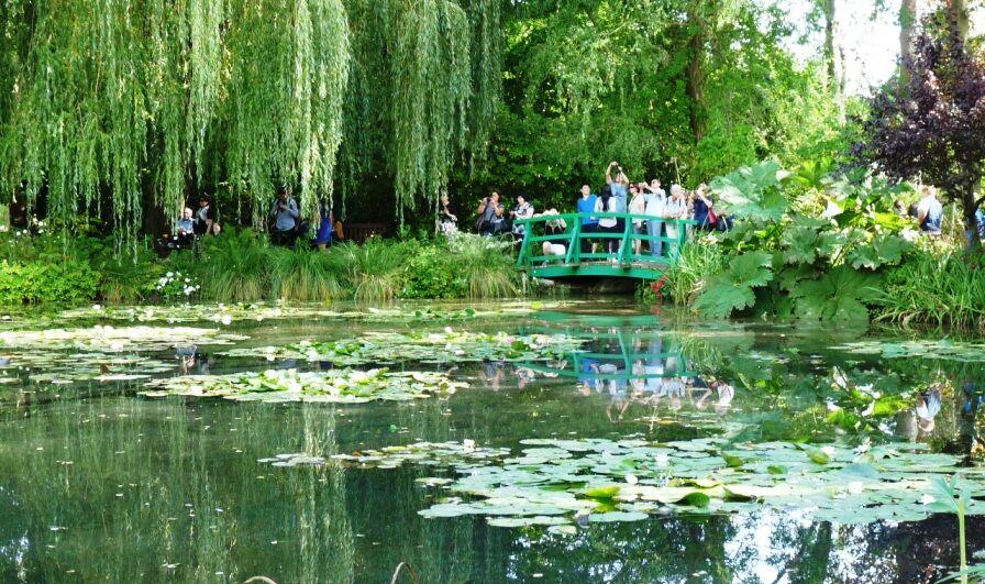 Most v zahradě Giverny