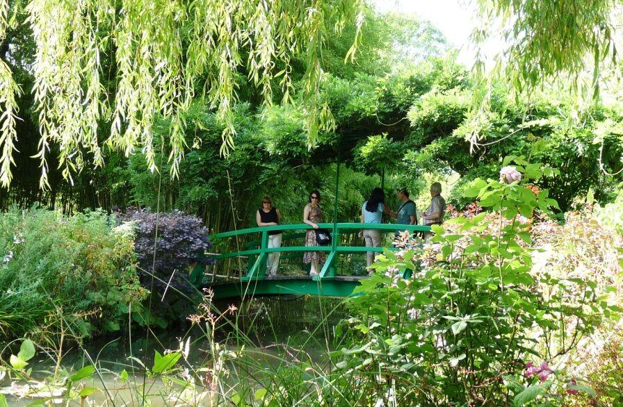 Most v zahradě Giverny 2