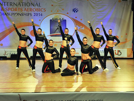 Aerobic Dancers Kladno