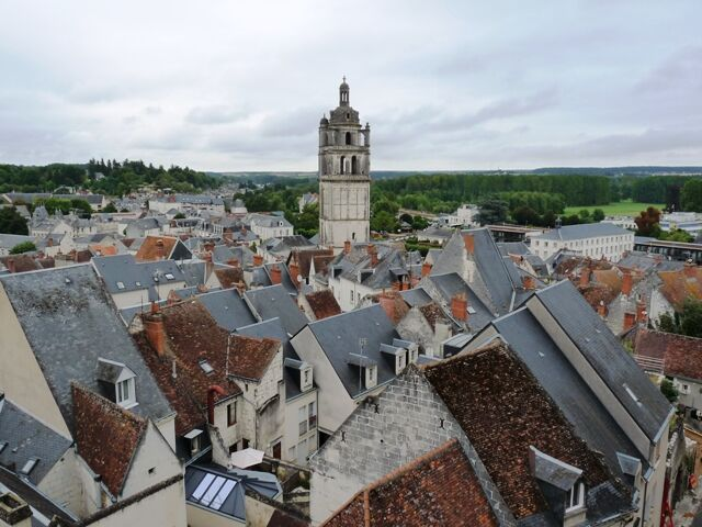 Loches-výhled