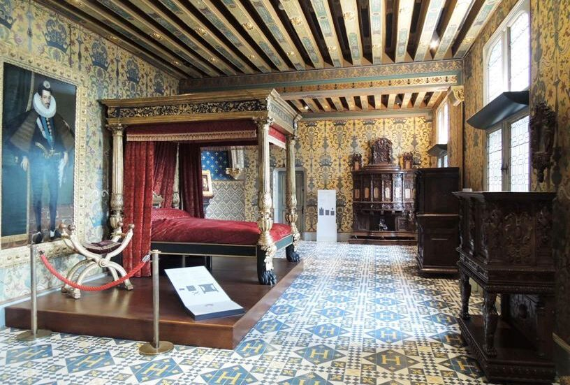 Blois-Ložnice krále