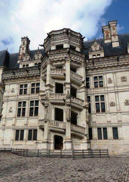 Blois-schodiště Františka I.