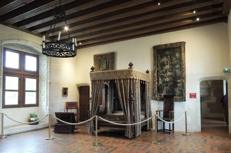 Amboise - pokoj Jindřicha II.