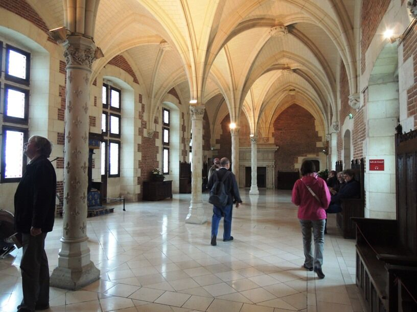 Amboise - radní sál