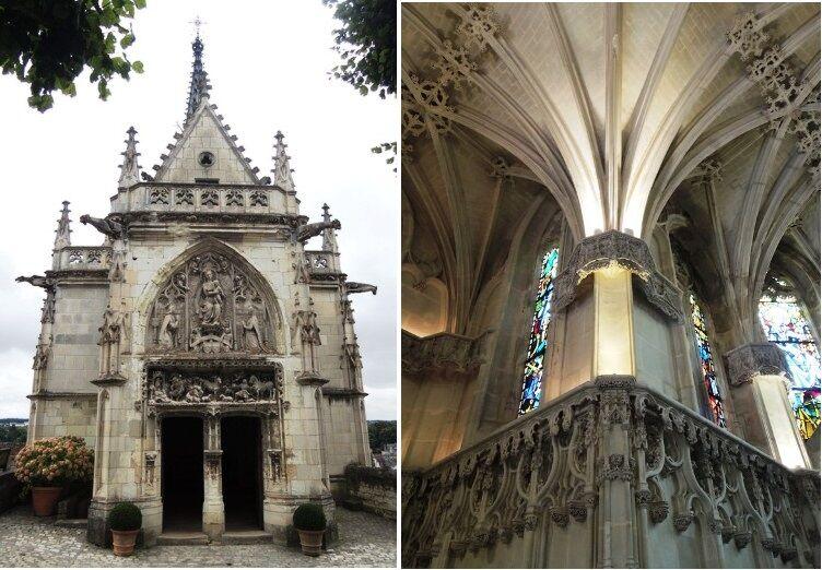Amboise - kaple sv. Huberta