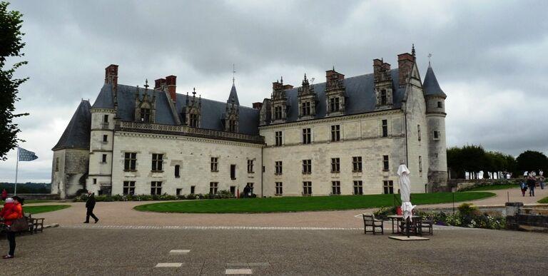 Amboise-královské budovy