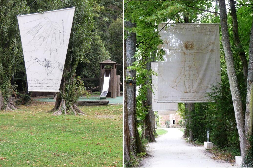 Clos Lucé - park