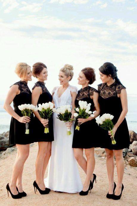 ŽENA-IN - Chystáte svatbu  Oblékněte družičky do černého! aeb951bfbd