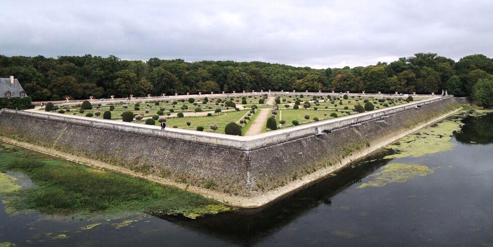 Chenonceau - Dianina zahrada