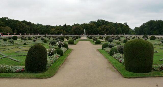 Chenonceau - Dianina zahrada2