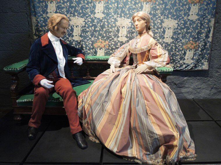 Chenonceau-muzeum voskových figur